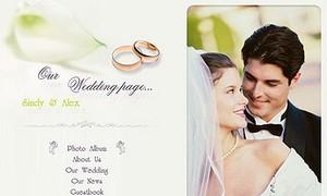 Beautiful Wedding HTML Templates